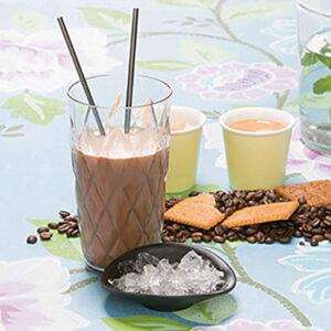 PowerSlim Drank iced cappuccino