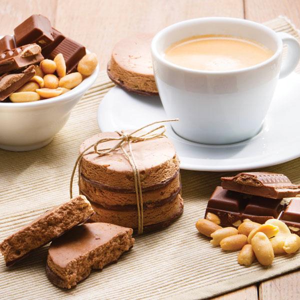 PowerSlim Chocolade pinda koek