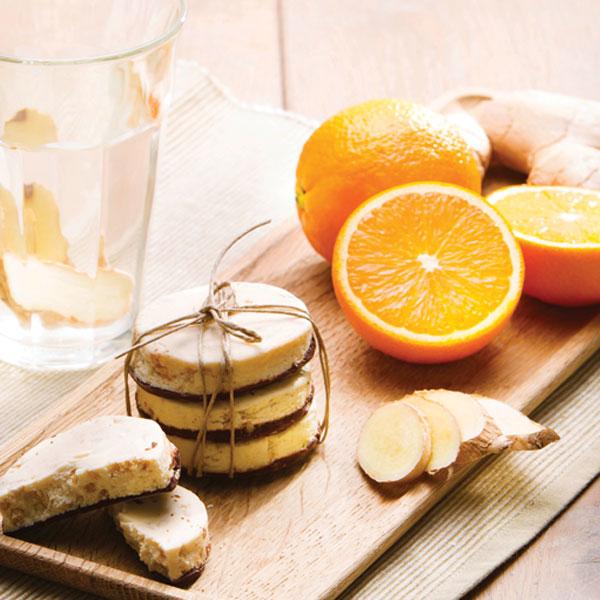 PowerSlim Sinaasappel gember koek