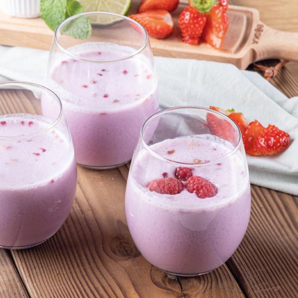 PowerSlim Cold drinks Strawberry raspberry smoothie