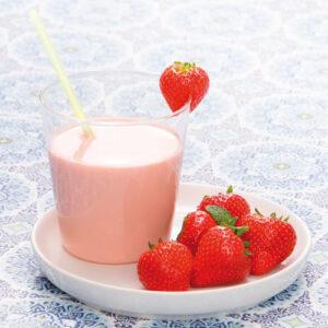 PowerSlim Ready to go Aardbeien smoothie