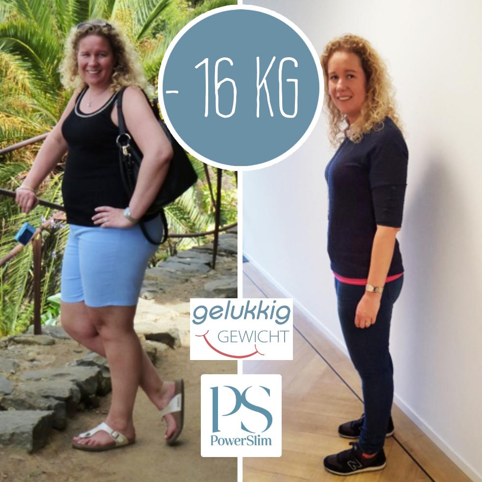 PowerSlim ervaringen Diana -16 kilo