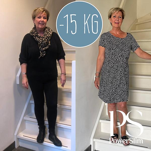 PowerSlim resultaten -15 kg