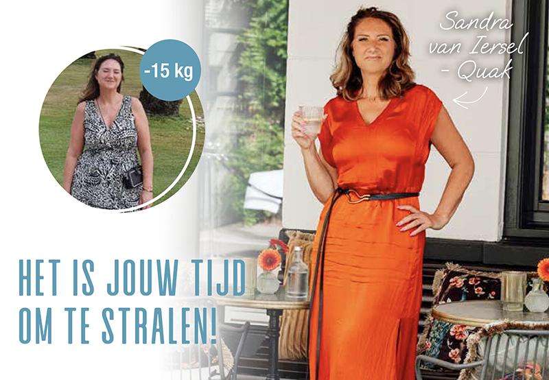 Sandra's Powerslim ervaring: e slankte 15 kilo af