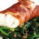 Een heerlijk PowerSlim recept van Rundercarpacccio - kabeljauw-pakketjes met spinazie